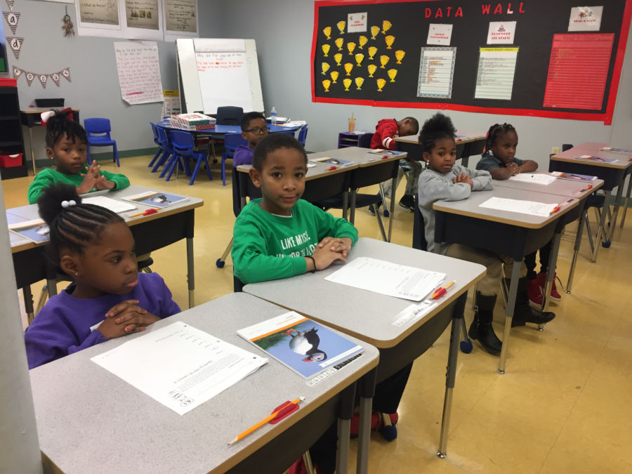 Memphis Delta Preparatory charter school is one of four schools working with ALLMemphis to develop stronger literacy curriculum.